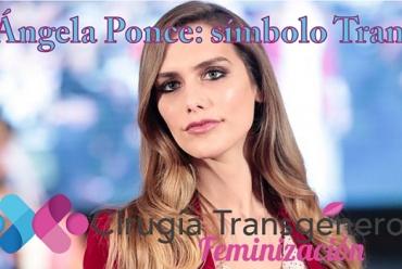 Ángela Ponce, Miss España, símbolo trans
